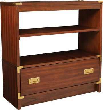 Wynkoop Brown Bookcase