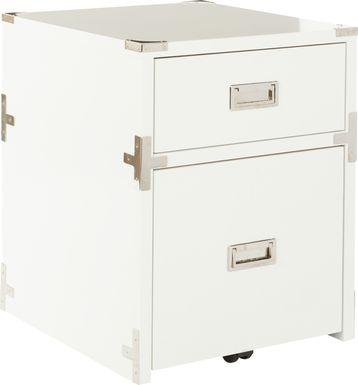 Wynkoop White File Cabinet