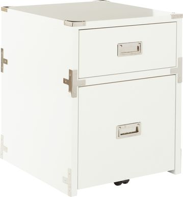 Wynkoop White File Cabinet