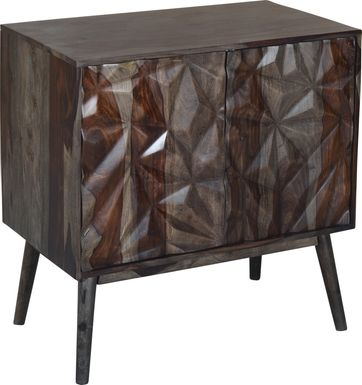 Wynnbrook Brown Accent Cabinet