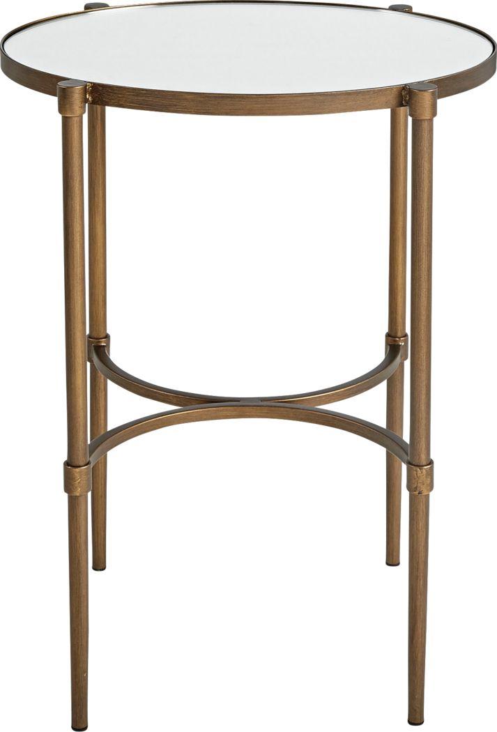 Wynnewood Bronze End Table