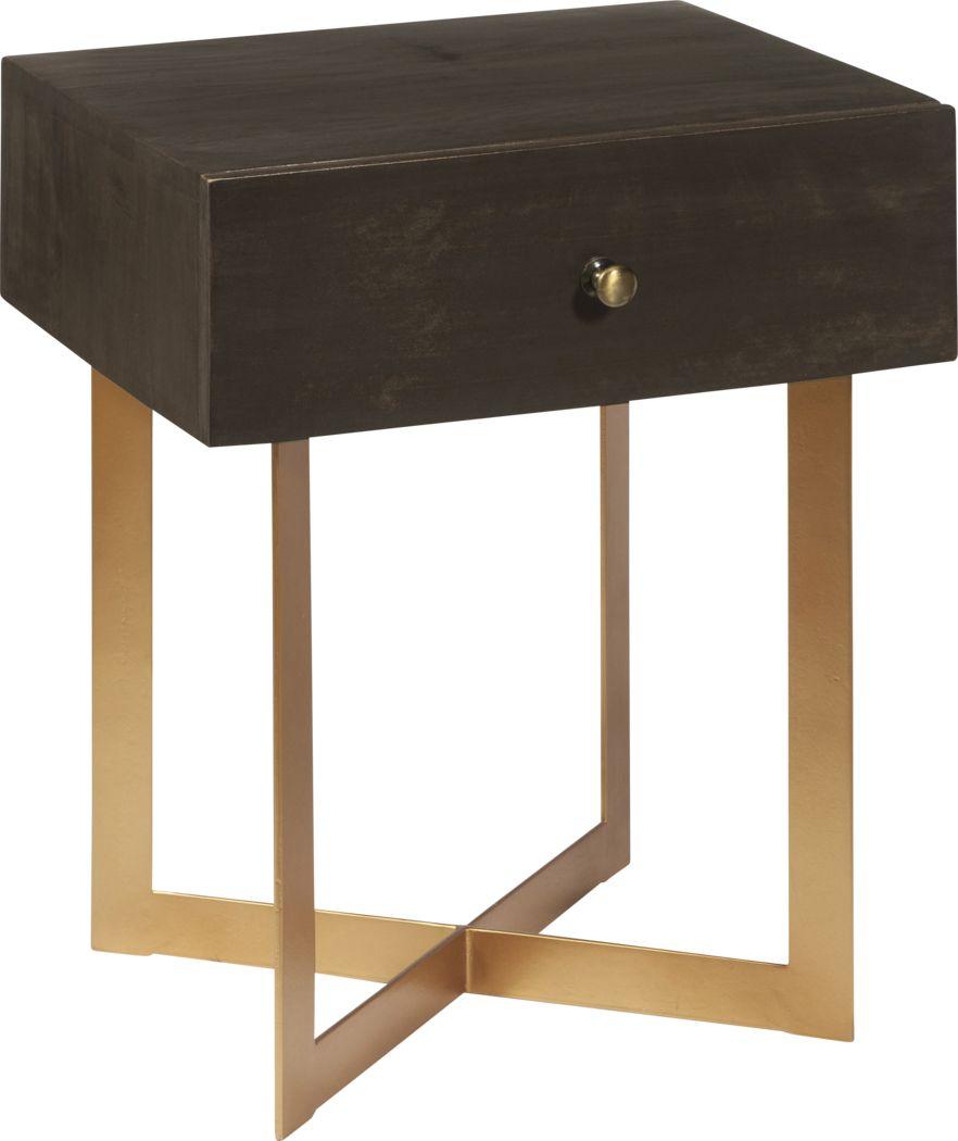 Wyntrest Brown Side Table