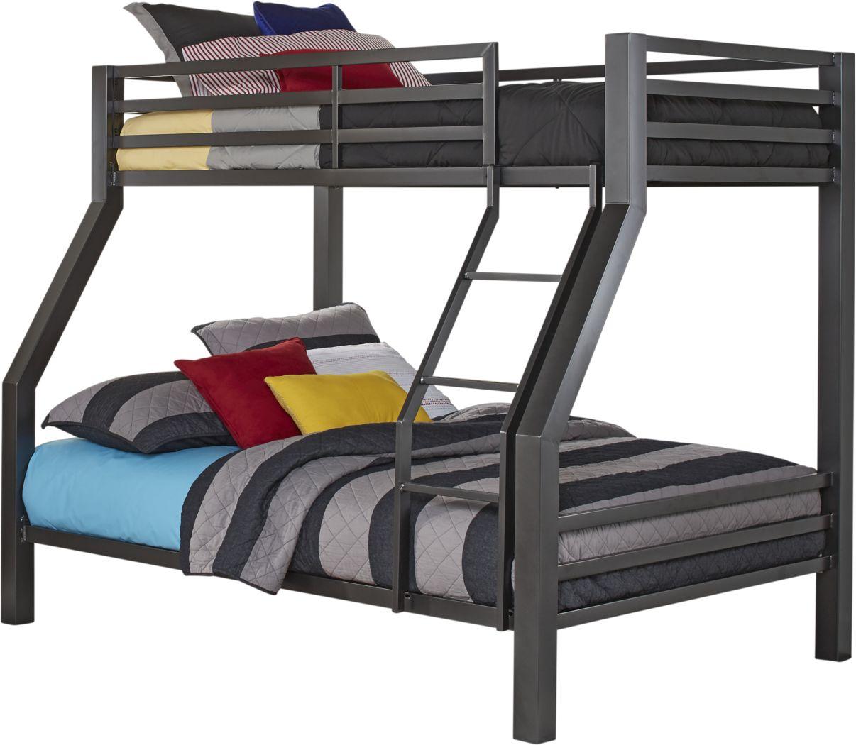 Xander Gray Twin/Full Bunk Bed