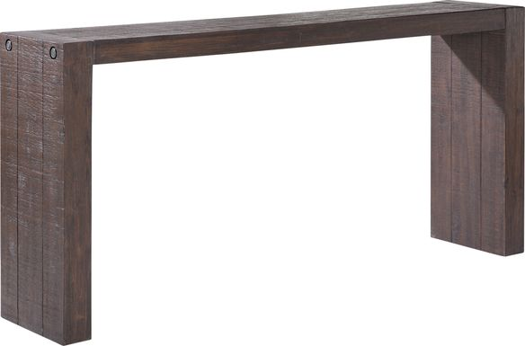 Yardarm Brown Console Table
