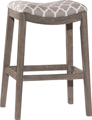 Yarnell Gray Counter Height Stool