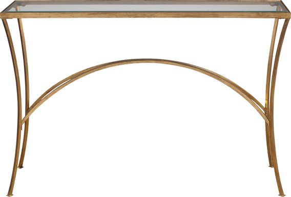 Yeamans Gold Sofa Table