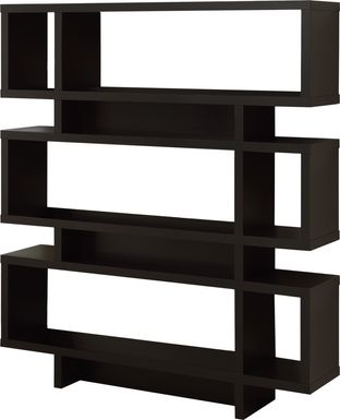 Yorkwood Cappuccino Bookcase