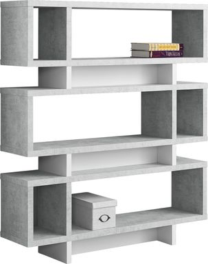 Yorkwood Gray Bookcase