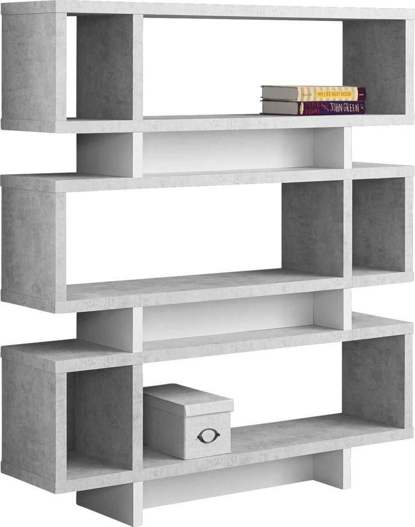 Yorkwood Gray Bookcase