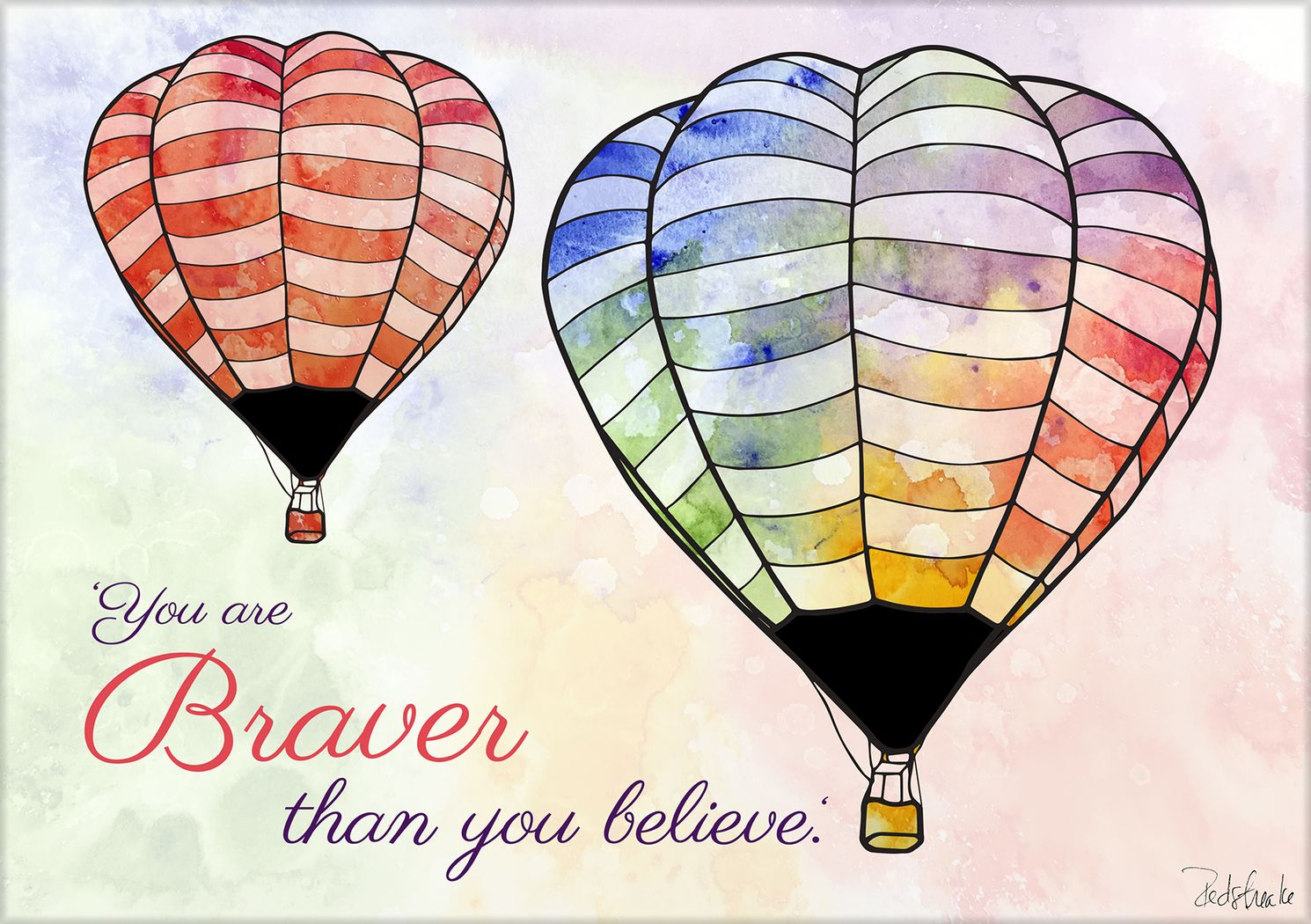 Kids You Are Braver Artwork
