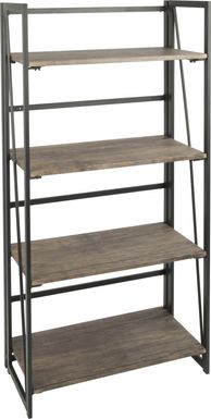 Zenobia Brown Bookcase
