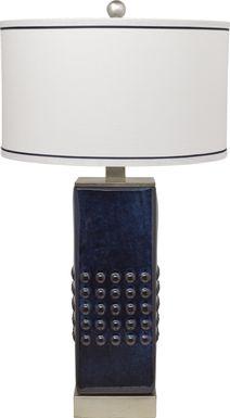 Zia Blue Lamp