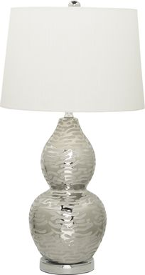 Zoila Silver Lamp